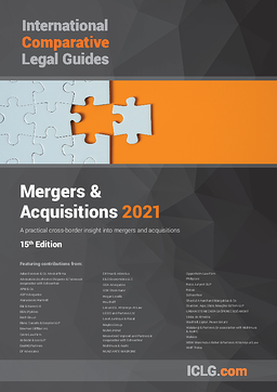 Cover Image ICLG - M&A 2021